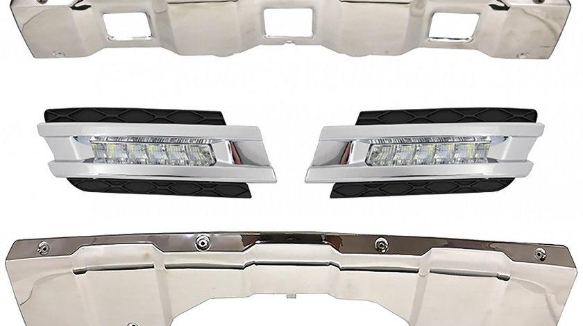 Prelungiri Off Road cu Lumini de Zi Dedicate Mercedes Benz X164 2006-2009