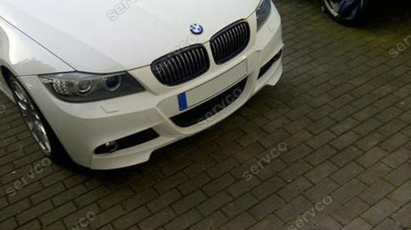 Prelungiri splitere flapsuri BMW E90 E91 2009-2012 doar pt bara M pachet Aero v4