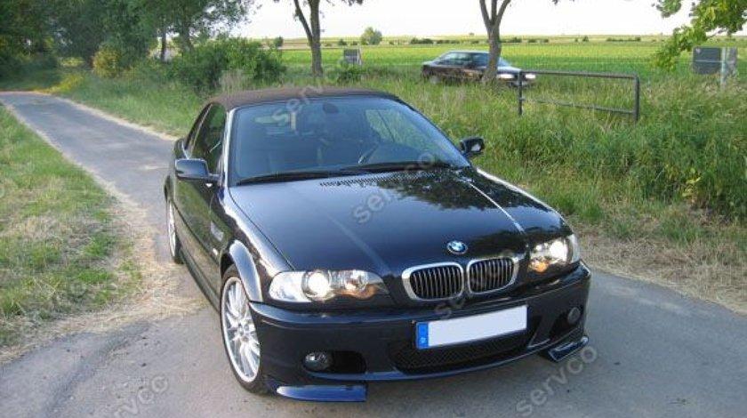 Prelungiri splittere flapsuri BMW E46 1998 1999 2000 2001 2002 2003 2004 2005 pt bara Mpachet v3