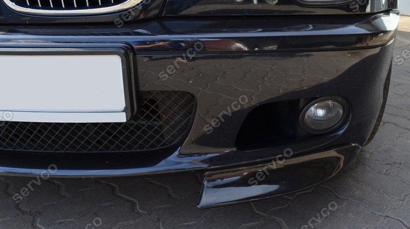 Prelungiri splittere flapsuri BMW E46 CSL 1998 1999 2000 2001 2002 2003 2004 2005 pt bara Mpachet v4