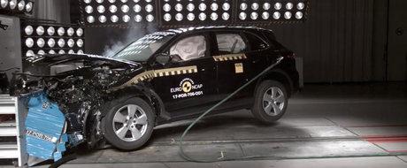 Premiera absoluta la testele Euro NCAP! E pentru prima oara cand europenii testeaza aceasta masina de lux