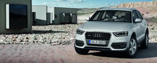Premiera: Acesta este noul Audi Q3!