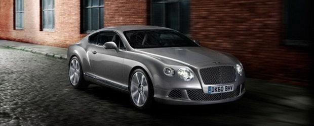 PREMIERA: Acesta este noul Bentley Continental GT!