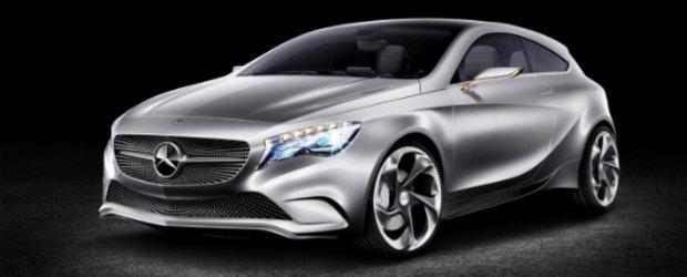 Premiera: Acesta este noul Mercedes A-Class Concept