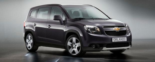Premiera: Chevrolet dezvaluie noul Orlando