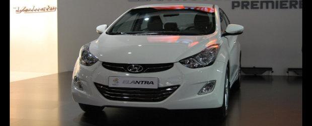 Premiera europeana pentru noul Hyundai Elantra