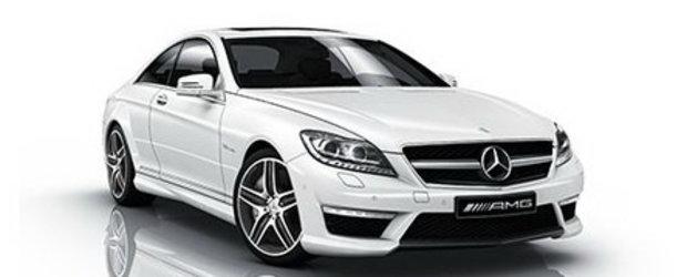 Premiera: Facelift pentru Mercedes CL63 AMG