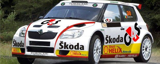 Premiera in automobilism – Skoda Fabia S2000 va participa la Raliul Sibiului