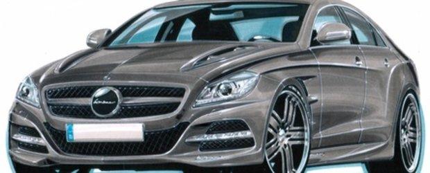 PREMIERA: Lorinser modifica noul Mercedes CLS!