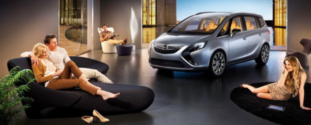 Premiera mondiala: Conceptul Opel Zafira Tourer, un lounge pe roti