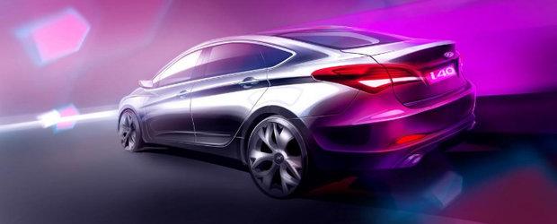 Premiera mondiala Hyundai i40 sedan la Barcelona