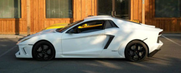 Premiera mondiala in lumea tuningului: A fost clonat primul Lamborghini Aventador!