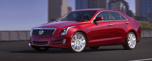 PREMIERA: Noul Cadillac ATS se anunta un cosmar pentru A4, Seria 3 si C-Class