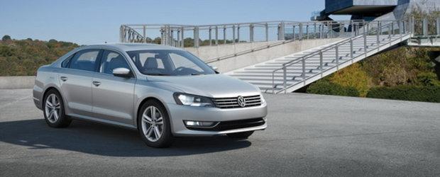 Premiera: Noul Volkswagen Passat se prezinta in versiunea americana