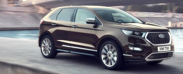 Premiera pentru Ford. Edge facelift va fi dotat cu tractiune integrala controlata de INTELIGENTA ARTIFICIALA