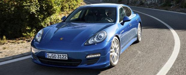 Premiera: Porsche Panamera S ajunge Hybrid, debuteaza la Geneva Motor Show