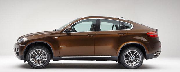 Premiere importante pentru noul BMW X6