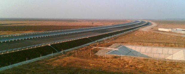Premierul Ungureanu: Sper ca, la jumatatea lunii mai, autostrada Bucuresti-Ploiesti sa fie data in circulatie