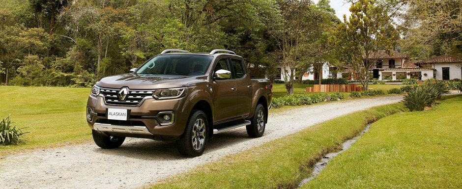 Presimteam ca Renault va aduce pick-up-ul Alaskan in Europa, dar acum e oficial