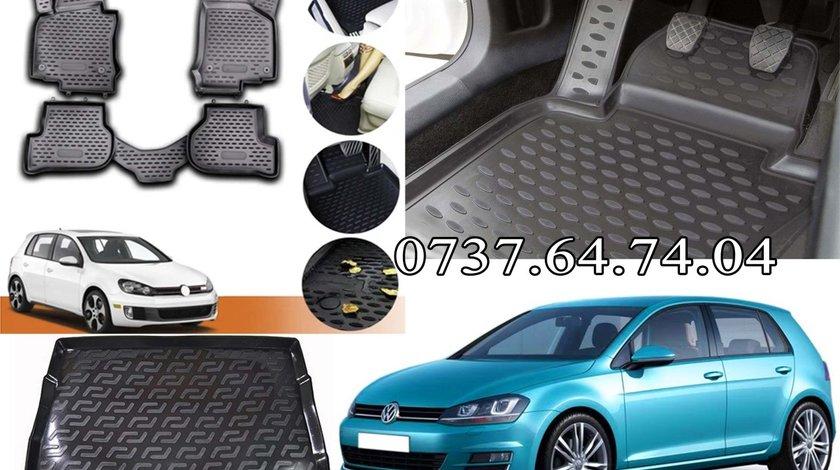 Presuri / Covorase VW Volkswagen Golf 5, 6, Jetta - tip tavita – din cauciuc