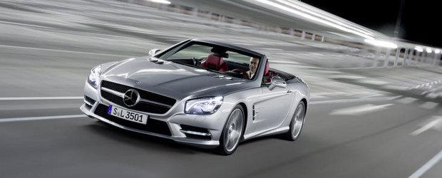 Pretul de pornire al noului Mercedes-Benz SL in Romania va fi de 97.092 de euro