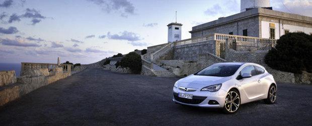 Pretul de pornire al unui Opel Astra GTC in Romania va fi de 18.990 de euro