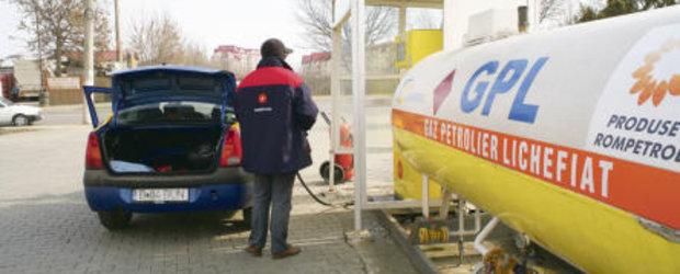 Pretul GPL-ului a crescut mai mult decat cel al benzinei