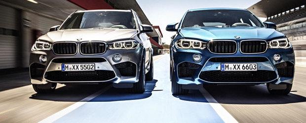 Pretul puterii: Cat costa in Romania noile BMW X5 si X6 M
