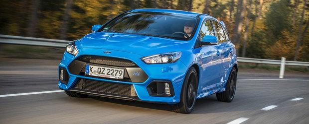 Preturi Ford Focus RS: Cat costa in Romania hot-hatch-ul de 350 CP?