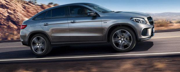 Preturi Mercedes GLE Coupe: Cat costa rivalul noului BMW X6?