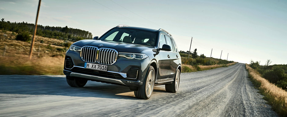 Preturi noul X7: sa stii cat costa cel mai mare SUV de la BMW atunci cand il vei vedea pe strazile din Romania