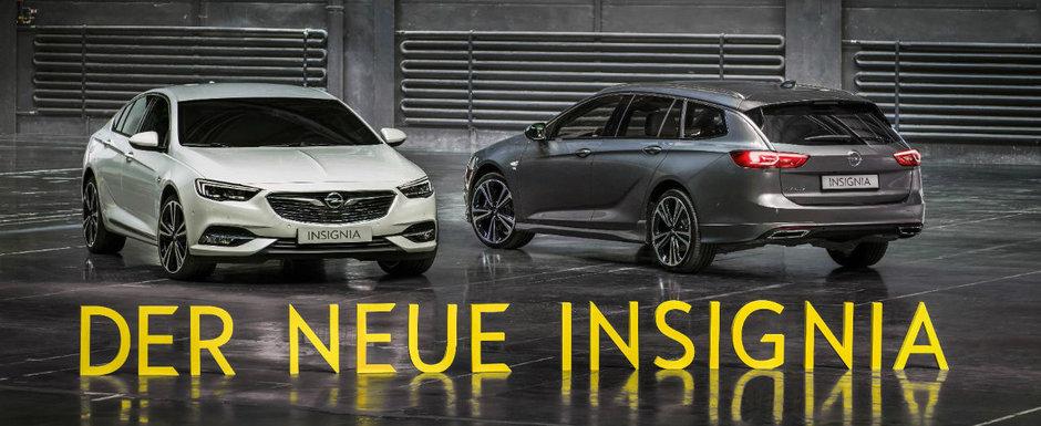 Preturi Opel Insignia Grand Sport: Cat costa in Romania rivalul lui Volkswagen Passat