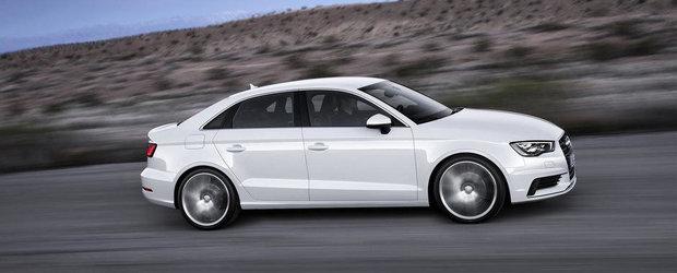 Preturile noului Audi A3 Sedan in Romania