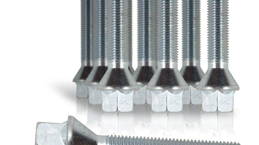 Prezoane cu cap conic M12 x 1,5 cu filet 33 mm