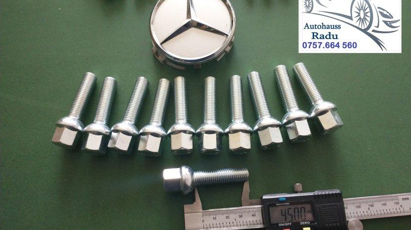 Prezoane Mercedes M12 x 1,5 filet 45 mm cap Semisferic Orice model