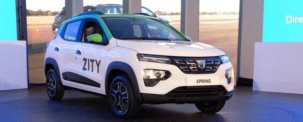 """Prim contact cu noua Dacia Spring. Cum este """"pe viu"""" intaia electrica romaneasca"""