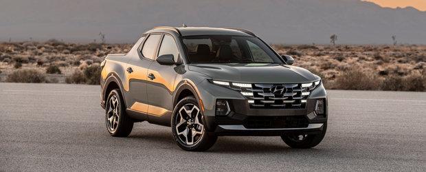 Prima camioneta de la Hyundai a debutat oficial. Fa cunostinta cu Santa Cruz, pick-up-ul cu design SF si instalatie audio Bose