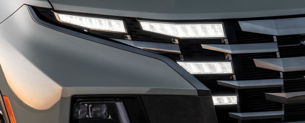 Prima camioneta de la Hyundai a debutat oficial. Cat costa Santa Cruz, pick-up-ul cu design SF si instalatie audio Bose