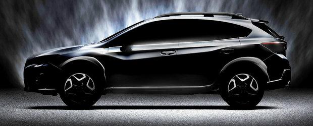 Prima imagine oficiala cu Subaru XV, crossover-ul bazat pe Impreza