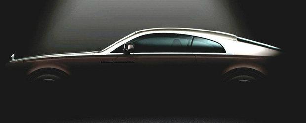 Prima imagine teaser cu Rolls-Royce Wraith