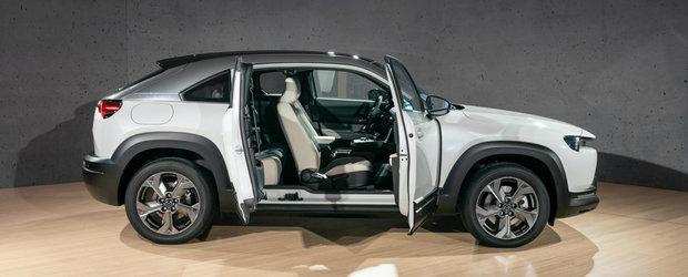 Prima masina electrica de la Mazda. Cum arata in realitate