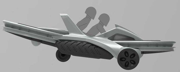 Prima motocicleta care zboara va fi pusa in vanzare anul viitor
