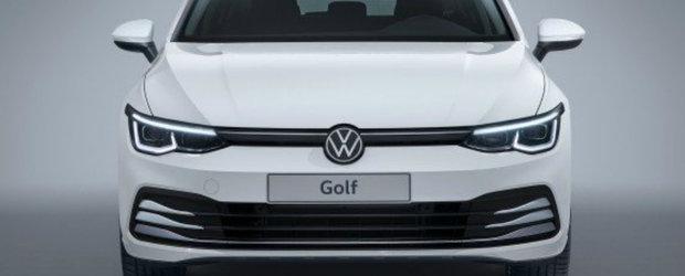 Prima poza oficiala a noului Golf 8 a ajuns mai devreme pe internet, spre disperarea nemtilor de la VW