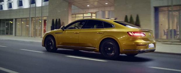 Prima reclama la noul VW Arteon scoate la iveala tot ce are masina germana mai bun de oferit