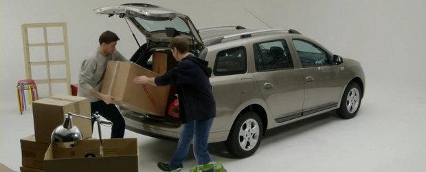 Prima reclama pentru noua Dacia Logan MCV