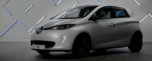 Prima reclama pentru noul Renault Zoe