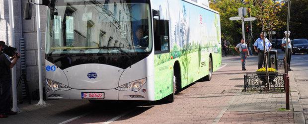 Primele autobuze electrice oferite spre testare in marile orase