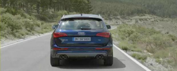 Primele cadre video cu noul Audi SQ5 TDI!