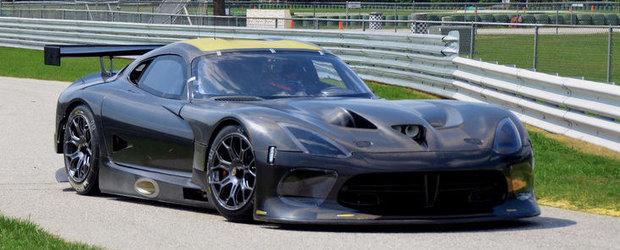 Primele cadre video cu noul Dodge Viper GTS-R!