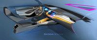 Primele fotografii oficiale de la interiorul noii Skoda Octavia 4 ne arata un volan... cu numai doua spite